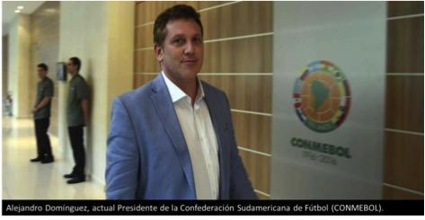 Alejandro Dominguez presidente de la conmebol