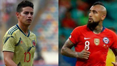Colombia Vs Chile Cuartos de Final Copa America Brasil 2019