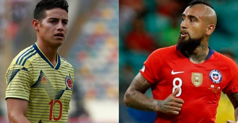 Colombia Vs Chile Cuartos de Final Copa America Brasil 2019
