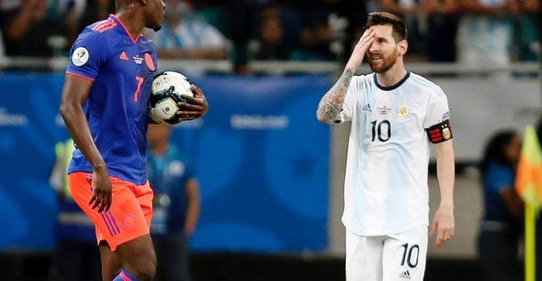 argentina vs colombia copa america brasil 2019