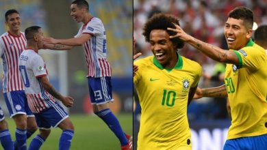 brasil vs paraguay cuartos de final copa america brasil 2019