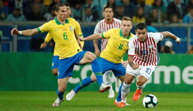 resumen del partido brasil vs paraguay copa america brasil 2019