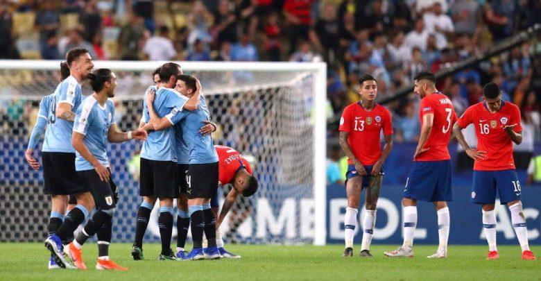uruguay derrota a chile copa america brasil 2019