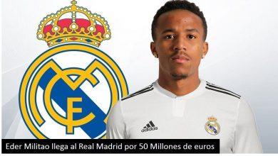 Photo of Eder Militao: La Presentación del nuevo jugador del Real Madrid