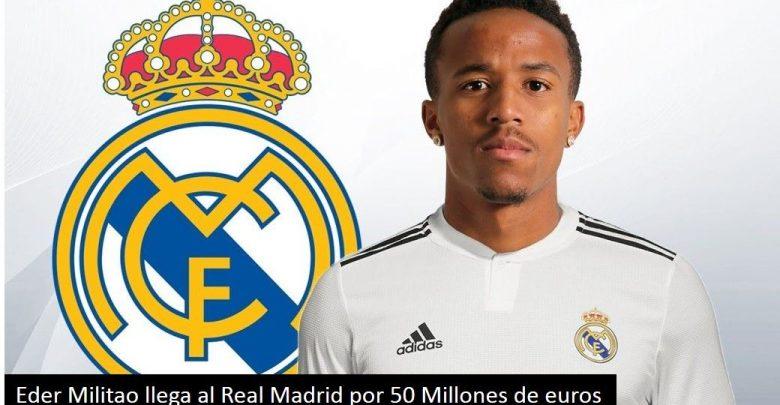 Eder Militao La Presentación del nuevo jugador del Real Madrid