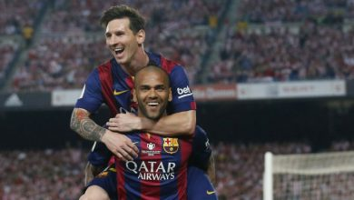 Photo of Dani Alves y su enojo con Messi