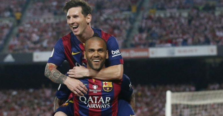 Dani Alves y su enojo con Messi