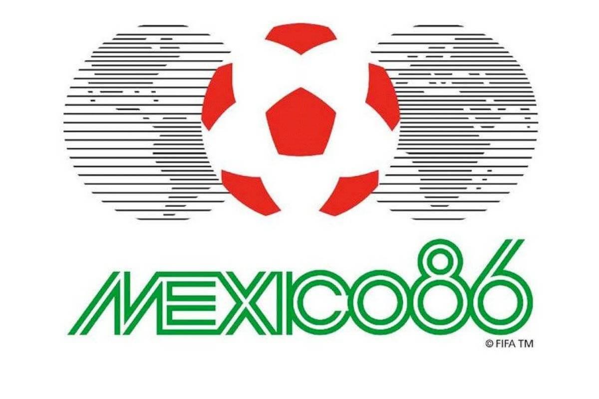 logo mundial mexico 86