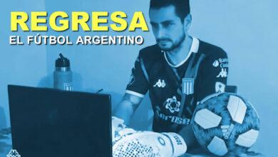 Photo of Después de 5 meses el fútbol argentino regresa a sus actividades deportivas